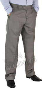 Men-039-s-High-Quality-Ever-Press-Casual-Formal-Business-Trousers-Pants-Size-32-50