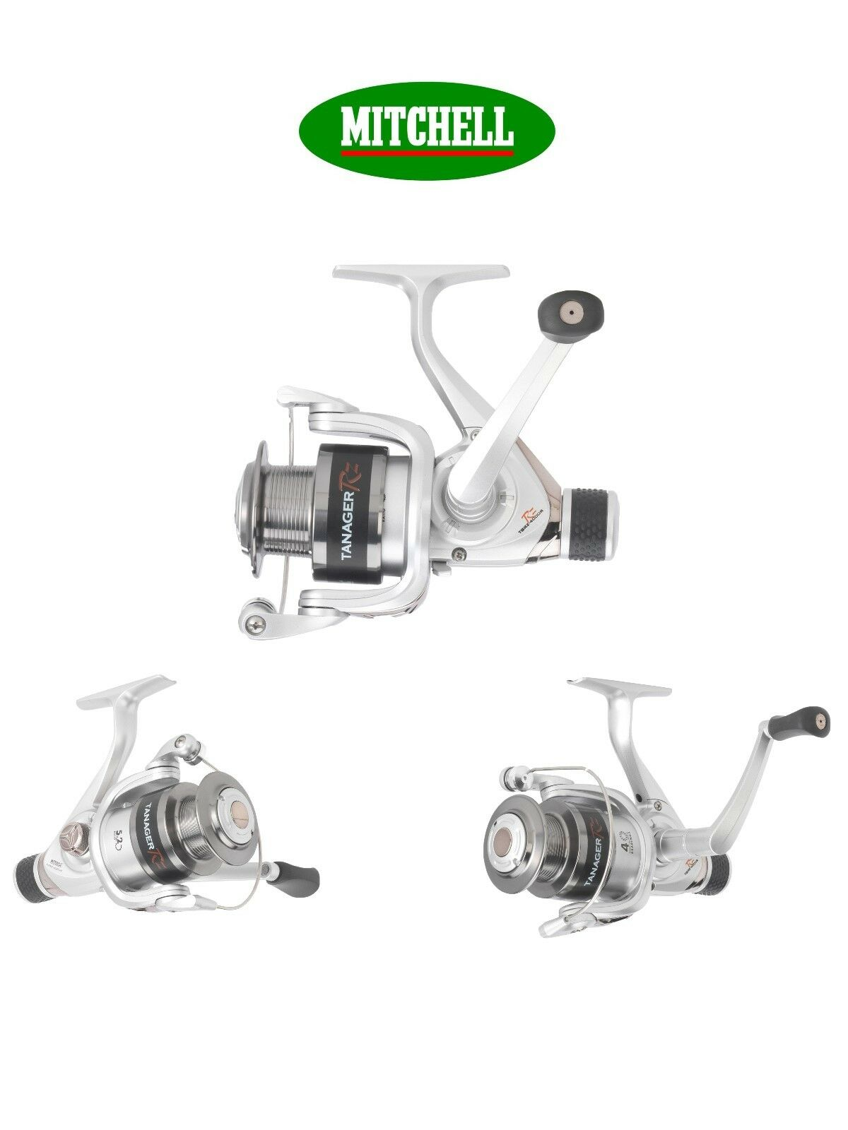 Mitchell Tanager RZ RD 2 Sizes Coarse Match Game Carp Pike Perch Spinning Reel