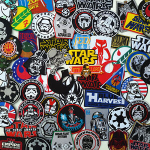 STAR-WARS-Ultimate-PATCH-COLLECTION-50-Styles-Under-2-UK-Fast-Free-Post