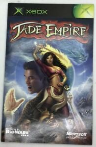 Jade-Empire-Original-Xbox-Manual-Instruction-Insert-Book-Only-French-Francais