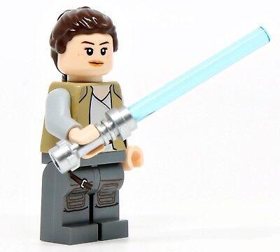 Rey Lego Star Wars The Last Jedi Minifigure 75200 Ebay