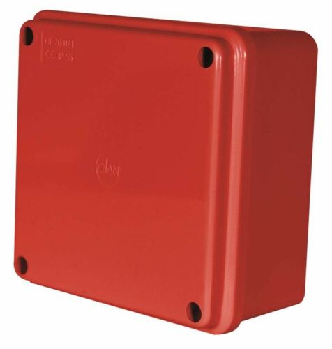 100x100x50mm IP56 Red Thermoplastic Junction Box Enclosure