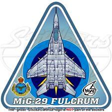 MIG-29 FULCRUM MALAYSIA Mikoyan-Gurevich MiG-29N Malaysian AirForce TUDM Sticker