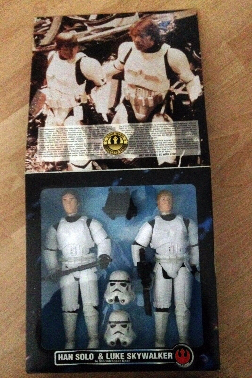 Star Wars Han Solo & Luke Skywalker Stormtrooper Disguise Disguise Disguise 12'' KB Toys Exclusive 4218d5