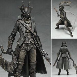 """Game Figma 367 Hunter Bloodborne 6/"""" PVC Action Figure Toy Model In Box Statue"""