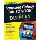 Samsung Galaxy Tab 4 Nook For Dummies by Corey Sandler (Paperback, 2015)