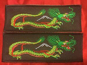Yellow Green Thin Dragon Liberty Cuff Set Ebay