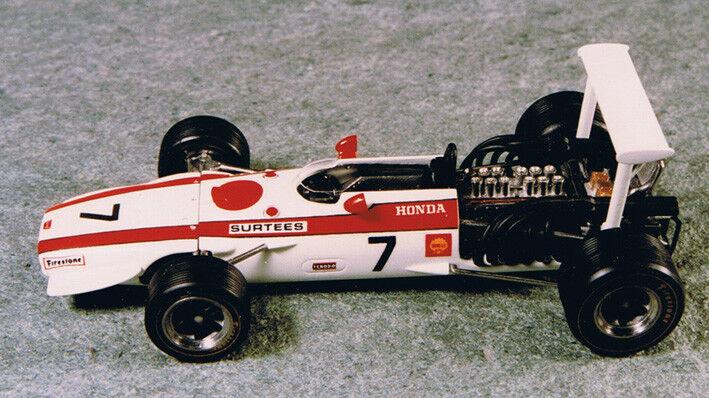 HONDA RA 301 J.Surtees 2nd 2nd 2nd GP France   3rd USA '68 - 1 43 blancoo metal SRC KIT42 a6de5f