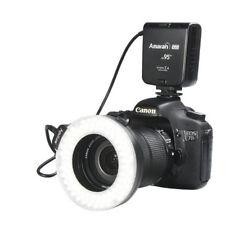 Aputure Amaran CRI95 + Halo AHL-HC100 Led Ring Flash Light for Canon DSLR Camera