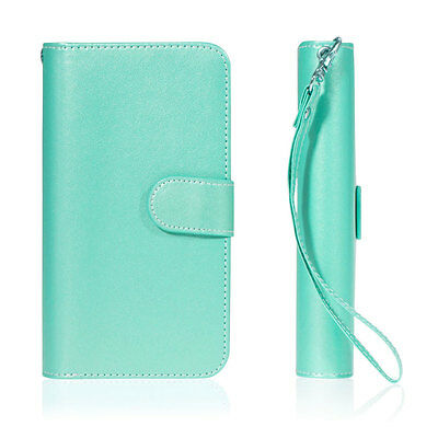 Leather Removable Wallet Magnetic Flip Card Case Cover for iPhone 7 & 8/6S Plus