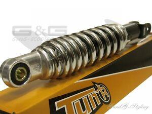 Tunr-Shock-Absorber-Strut-280mm-Chrome-Aprilia-Italjet-Honda-Peugeot-Speedfight