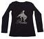 "Women/'s Rhinestone T-Shirt  /"" Rodeo Cowgirl on Bucking Horse /"" Horse Riding"