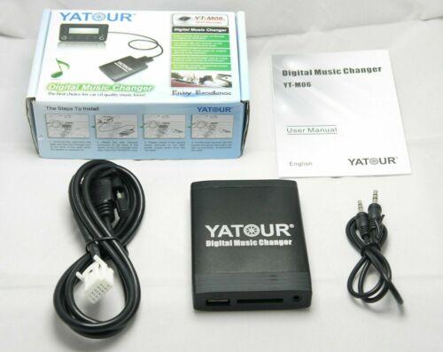 Yatour USB MP3 AUX SD CD Adaptador para TOYOTA Camry Cruiser RAV4 LEXUS SCION