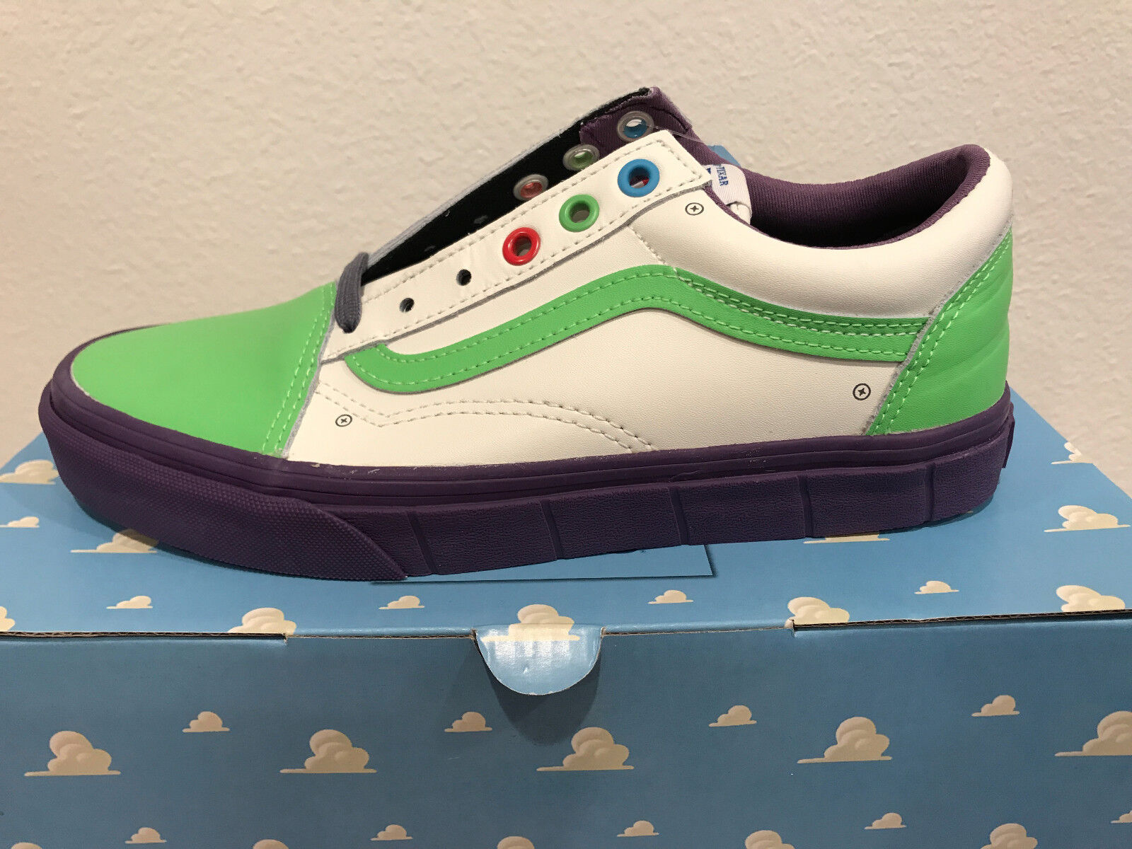 Vans Old Skool Toy Story Buzz Light Year Collectibles $350