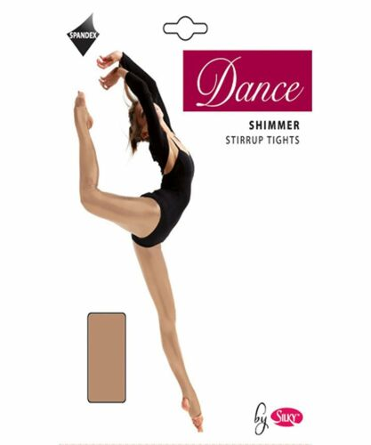 CHILDRENS//ADULTS TOAST STIRRUP SHIMMER TIGHTS ALL SIZES DANCE TIGHTS