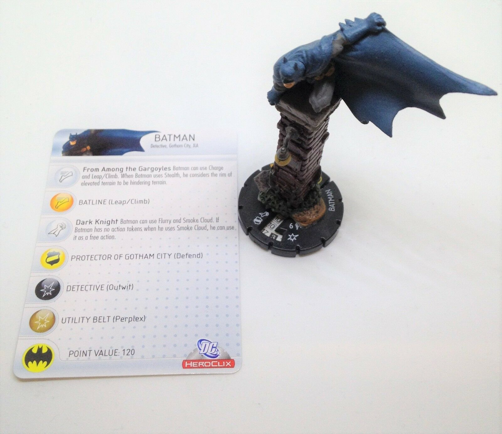 precios ultra bajos Conjunto De Heroclix Arkham Asylum Batman  099 099 099 Figura de Chase Con Tarjeta   n ° 1 en línea