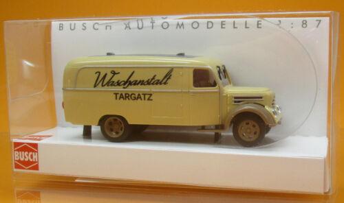 Busch 51811 IFA Robur Garant K 30 Kastenwagen Waschanstalt Targatz Scale 1 87
