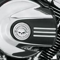 Harley Willie Skull Air Cleaner Insert Cover 2014+ Touring Ultra 2016+softail