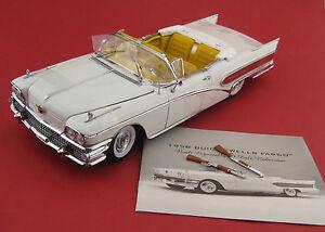 BUICK-limited-Wells-Fargo-1958-SUN-STAR-PLATINUM-echelle-1-18-neuf-dans-sa-boite-NEUF