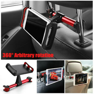 Details about Universal Car Back Seat Holder Mount Headrest For iPhone iPad  Mini Phone Tablet