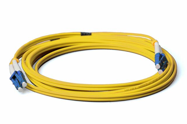 LWL LC-LC Patchkabel, Duplex, OS2, 9/125, 3mm, 2m Lichtwellenleiter