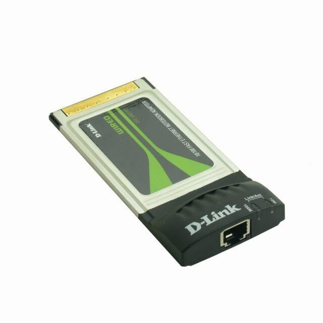 wholesale lot 5 Dlink 10//100M PCMCIA Ethernet network LAN pc Card Rj45 slot II