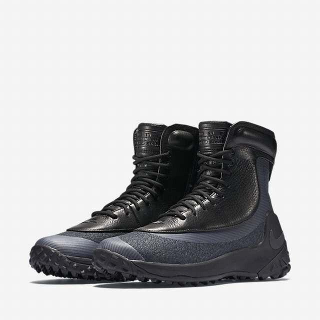 Señora nike cuero Zoom kynsi jcrd WP negro botas de cuero nike 806978-001 nuevo zapatos 36f23d