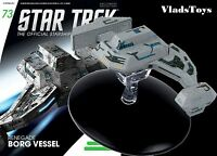 Eaglemoss Star Trek Borg Rogue Faction Renegade Vessel Type 03 Starship 73 W/ma