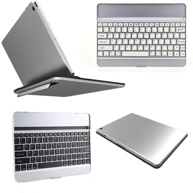 Ultra Slim Bluetooth Wireless Aluminium Keyboard Case Cover for iPad Air iPad 5