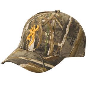 Browning-Mens-Cotton-Rimfire-3D-Buckmark-Cap-One-Size-Realtree-Max-5-308379761