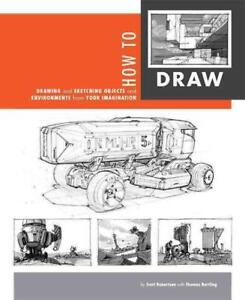HOW-TO-DRAW-ROBERTSON-SCOTT-BERTLING-THOMAS-CON-NEW-PAPERBACK-BOOK
