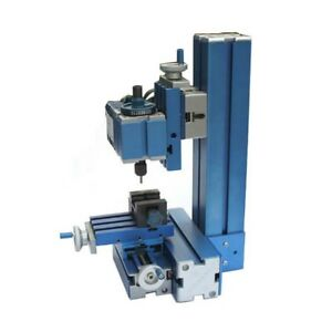 Metal Mini Milling Machine Micro Diy Woodworking Power Tool Student
