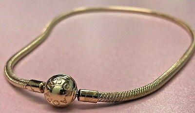 PANDORA   14K GOLD ICONIC SIGNATURE CLASP NECKLACE ✪NEW✪ 550742-42 RETIRED  RARE   eBay