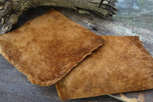 100/% Natural Amadou Squares for Fly Fishing Crafts Horse Hoof Fungus