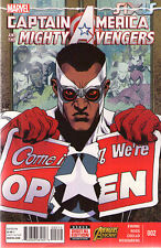 CAPTAIN AMERICA and the MIGHTY AVENGERS #2 - AXIS - New Bagged