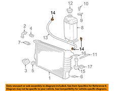 BMW OEM 97-03 540i 4.4L Radiator-Overflow Reservoir Tank Hose Clamp 32411712735