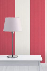 Home Value By Fine Decor Red//White Stripe Wallpaper FD41003