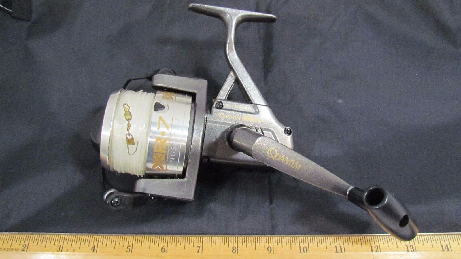 Quantum  XR-7 Longstroke Fishing Reel GREAT    fast shipping to you