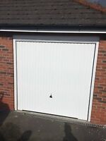 Fully Installed Hormann Garador Vertical Or Carlton White Includes Steel Frame