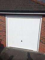 Fully Installed Hormann Garador Vertical Or Carlton White Includes Steel Frame