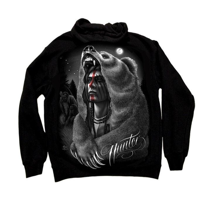 Dga David Gonzalez Arte Arte Arte Cacciatore Native Indiano D'America Warrior 879894
