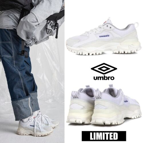 UMBRO Limited BUMPY Athletic Sneaker Dad Shoes White Size 4-13 U8323CCR51