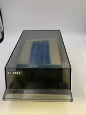 Vintage Rolodex Model Vip 24c Business Card Phone Address File With Blank Cards
