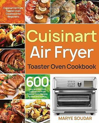 Cuisinart air fryer recipe book