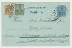 D-Reich-Nr-45-Ausgaben-MiF-mit-Germania-Reichspost-Marke-Ganzsache-49543