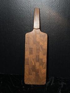 DANSK Modern Jens Quistgaard Teak Cheese Cutting Board Built in Knife