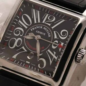 Franck-Muller-Conquistador-Cortez-10000-L-Stainless-Steel-Automatic-35mm-Watch
