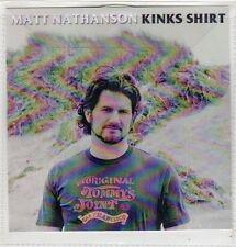 (FJ946) Matt Nathanson, Kinks Shirt - 2014 DJ CD
