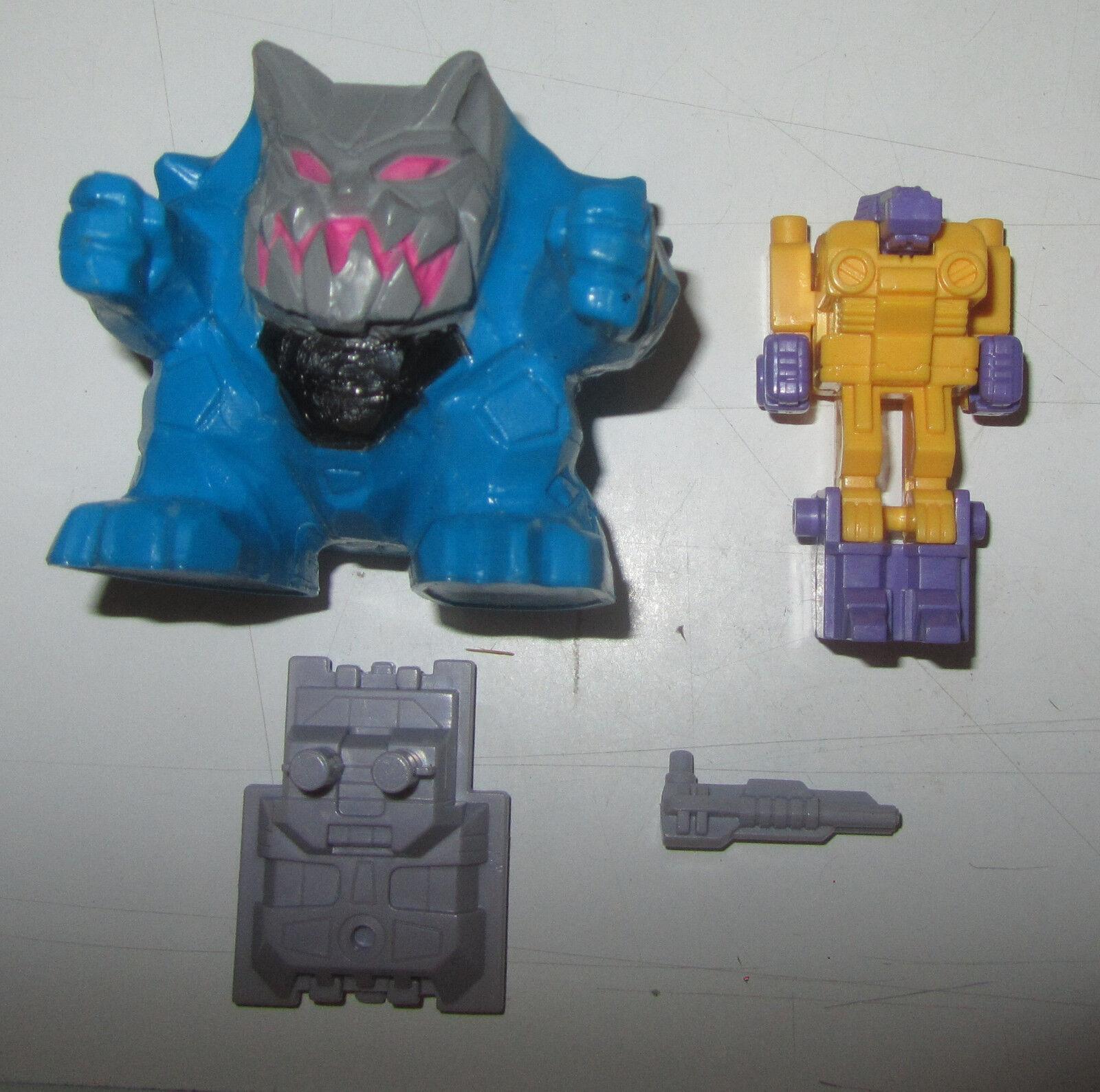 Transformers G1 Pretender Monstructor Scowl incompleto SPESE GRATIS