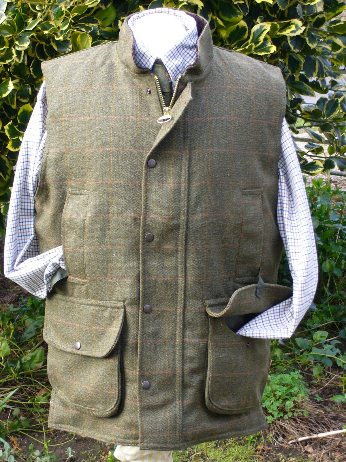 KEEPER TWEED SHOOTING VEST NEW HUNTING  SIZES S-XXXXXXL